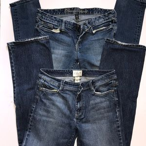 Gap & White House, Black Market Jeans - Size 8